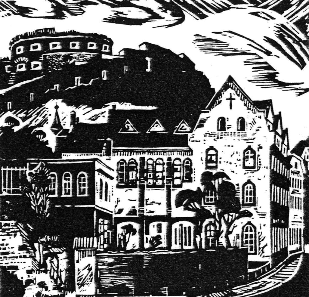 Copyright des Holzschnittes: Walter A. Küchenhoff